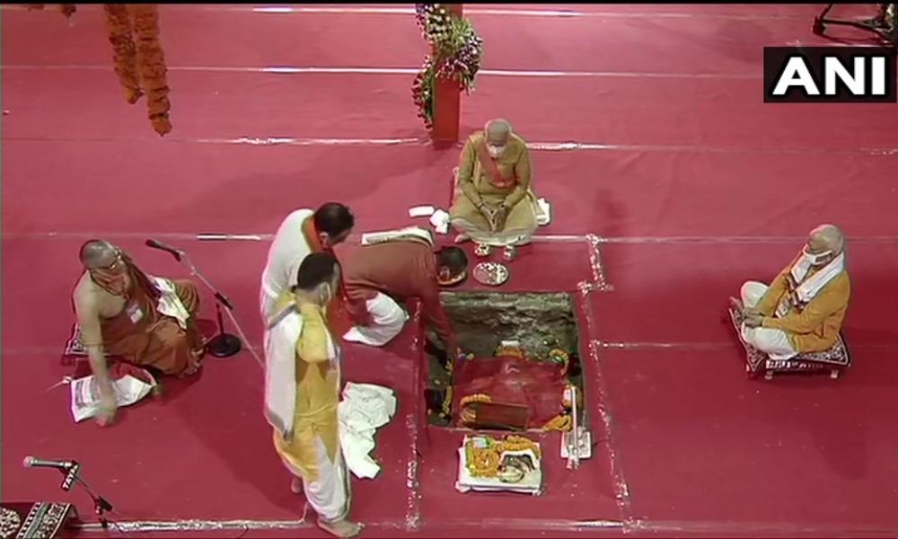 ayodhya ram temple bhoomi puja