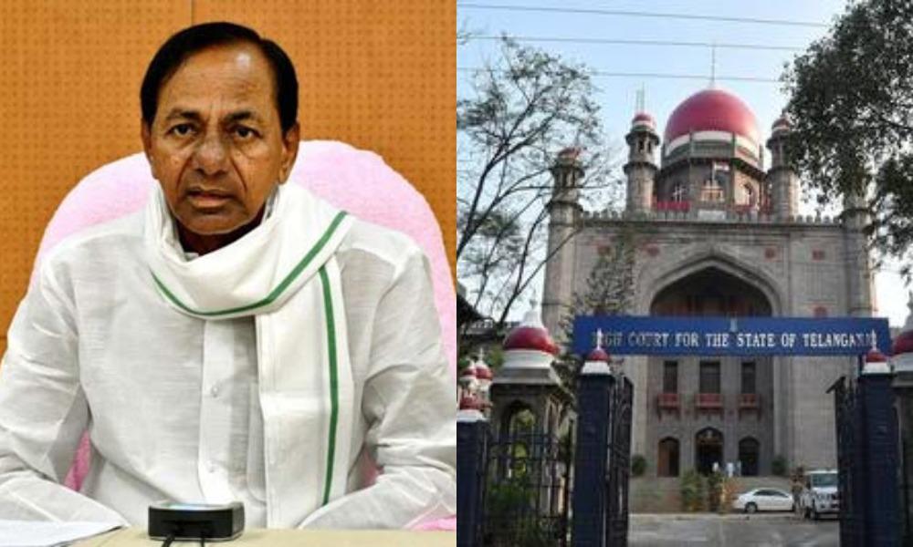 high court fires on telangana govt