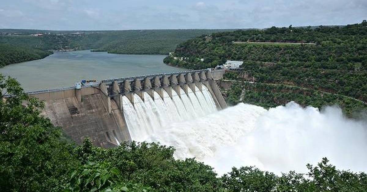 srisailam dam repair