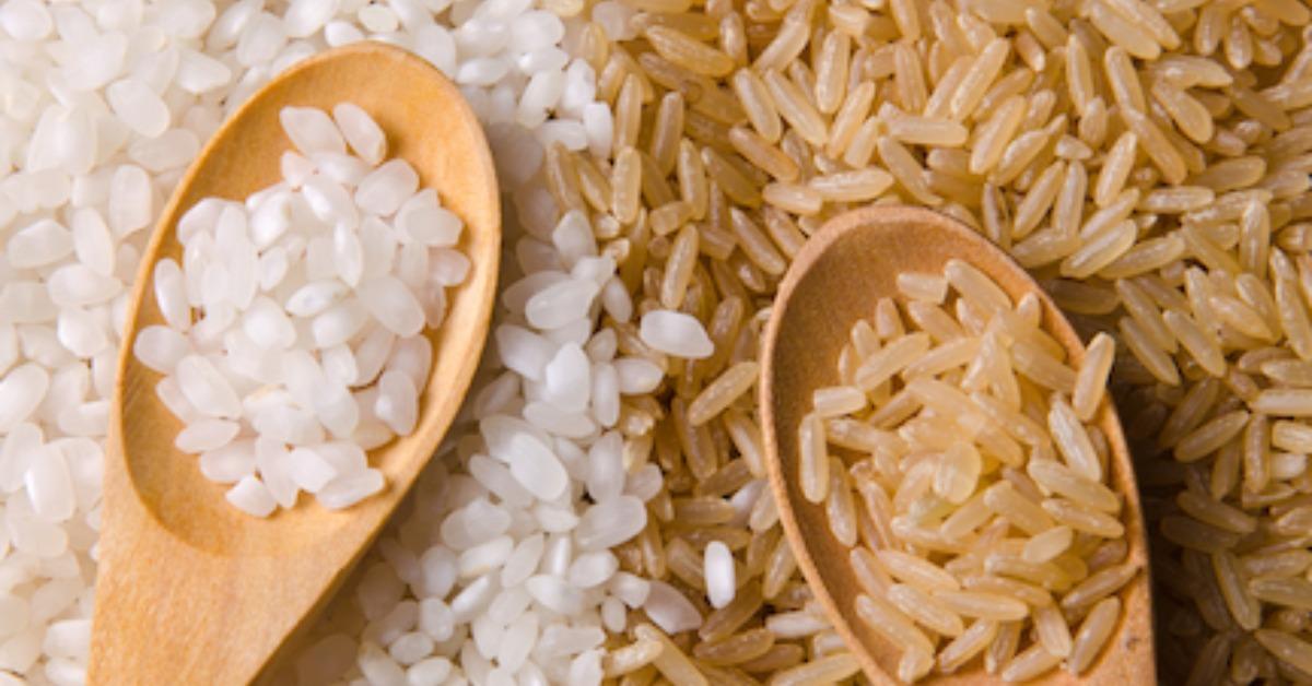 semi polished rice nutrition
