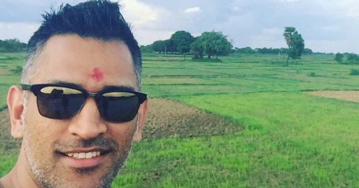 Dhoni to send vegetables from his farmhouse to Dubai