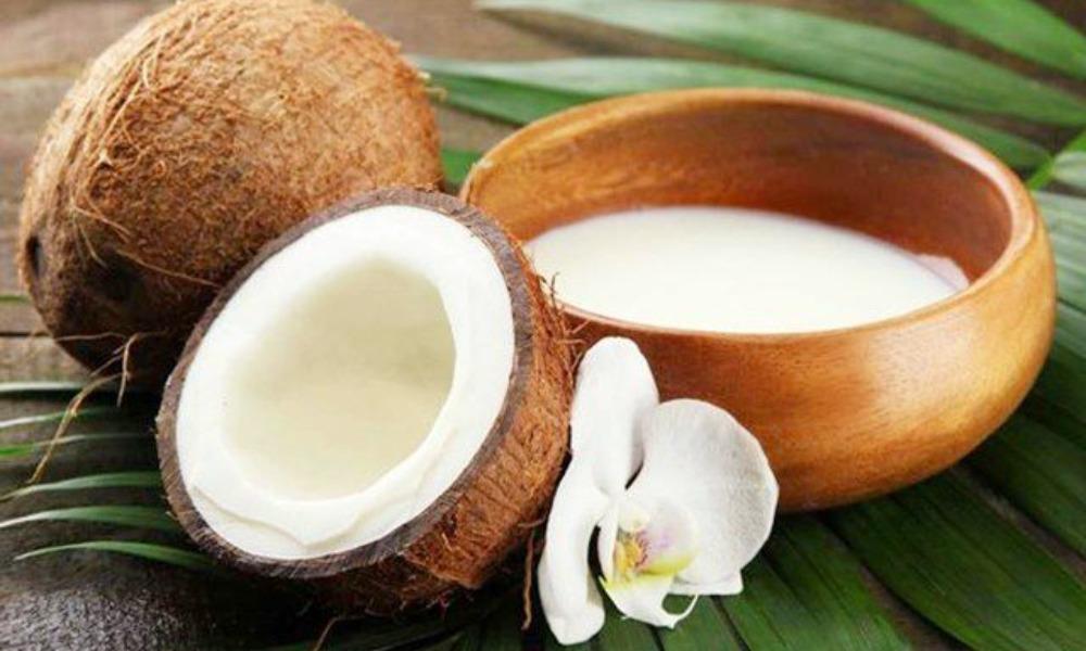 Brighter skin With Coconut Milk