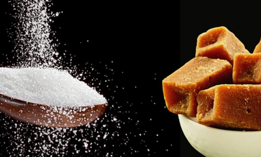 Replacing sugar with jaggery